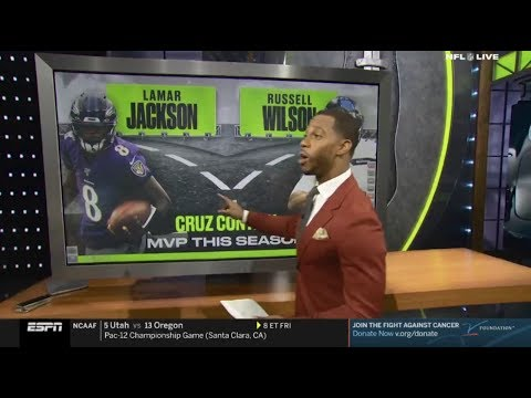 Victor Cruz: Seahawks' Russell Wilson Chasing Ravens' Lamar Jackson for NFL MVP – Who will win?