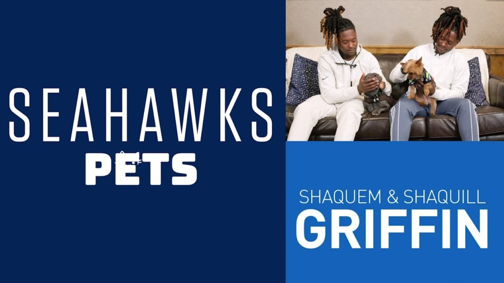 Shaquill and Shaquem Griffin's Lovable Pups | Seahawks Pets