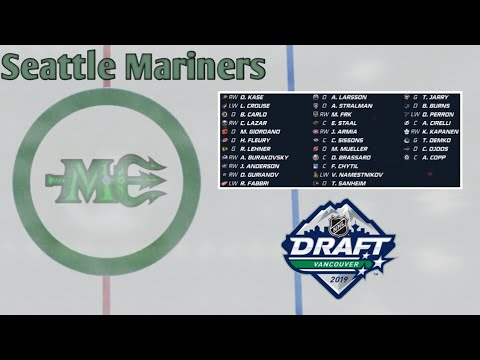 NHL 20 Seattle Franchise Mode #1 | EXPANSION- AND ENTRY DRAFT!