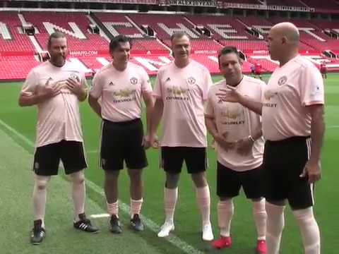 Football Aid 2019 – Fans Travel All the Way From Florida to Play at Old Trafford!