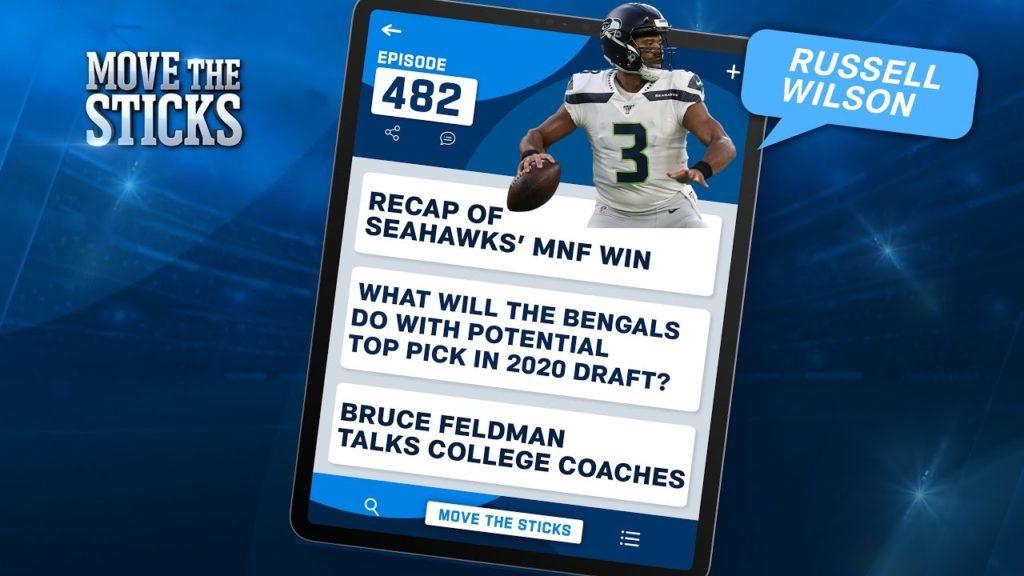 Seahawks MNF Win Recap, Bruce Feldman talks College Coaches & QBs | Move The Sticks