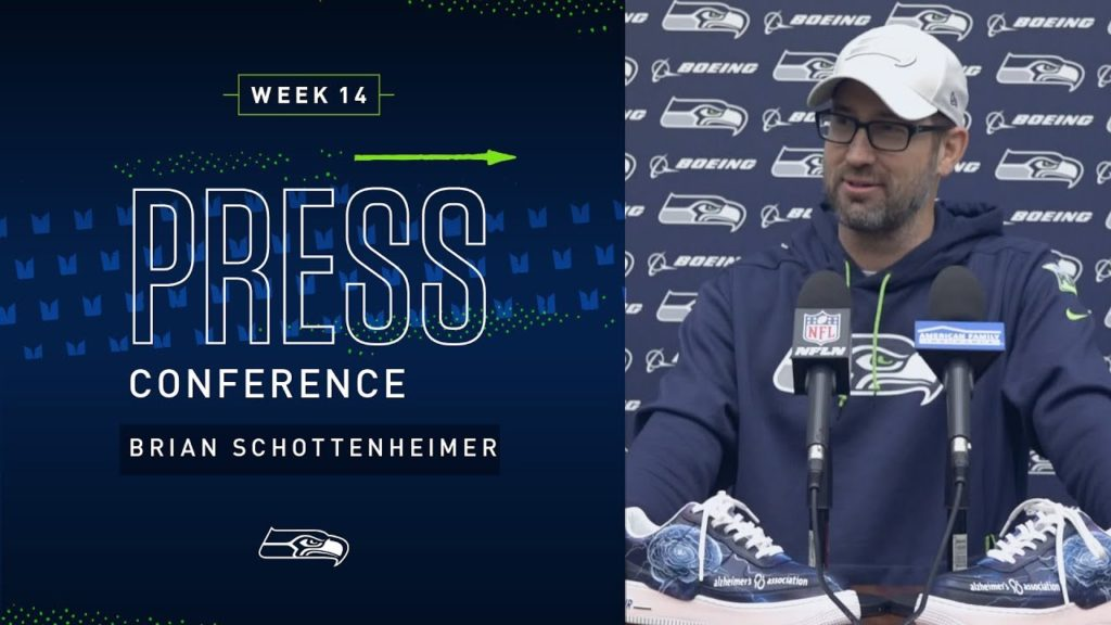 Offensive Coordinator Brian Schottenheimer Week 14 Press Conference | 2019 Seattle Seahawks