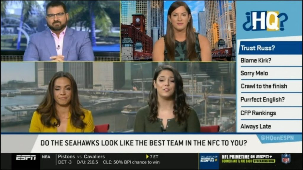 Highly Questionable 12/03/2019 – Do the Seahawks look like the best team NFC?