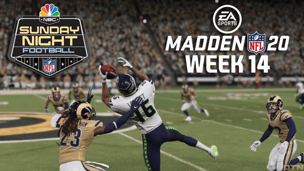 Madden Nfl 20 Gameday Week 14 Seattle Seahawks Vs Los