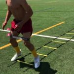 SPORTS FOOTBALL SPEED AND AGILITY TRAINING I RUNNING BACK DRILLS
