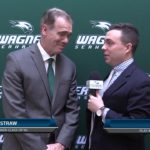 Wagner College Football Press Conference: Tim Capstraw (12/9/2019)