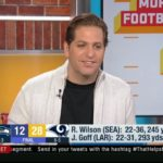 Peter Schrager IMPRESSED by Rams def. Seahawks 28-12; Jared Goff: 293 Yds, 2 TD, 2 Int – GMFB