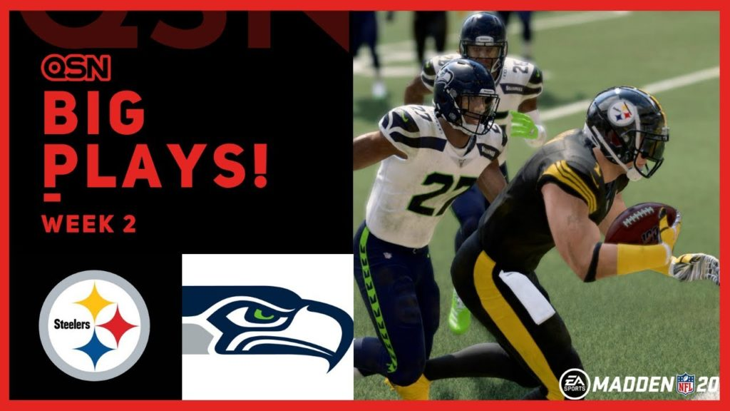 EP.006 | Pittsburgh Steelers vs Seattle Seahawks – RB Franchise Mode | QSN