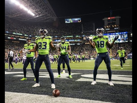 Seahawks Receivers – Can't Touch This
