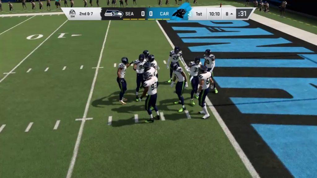 Madden 20 Simulation – Seattle Seahawks vs Carolina Panthers – Simulation Nation