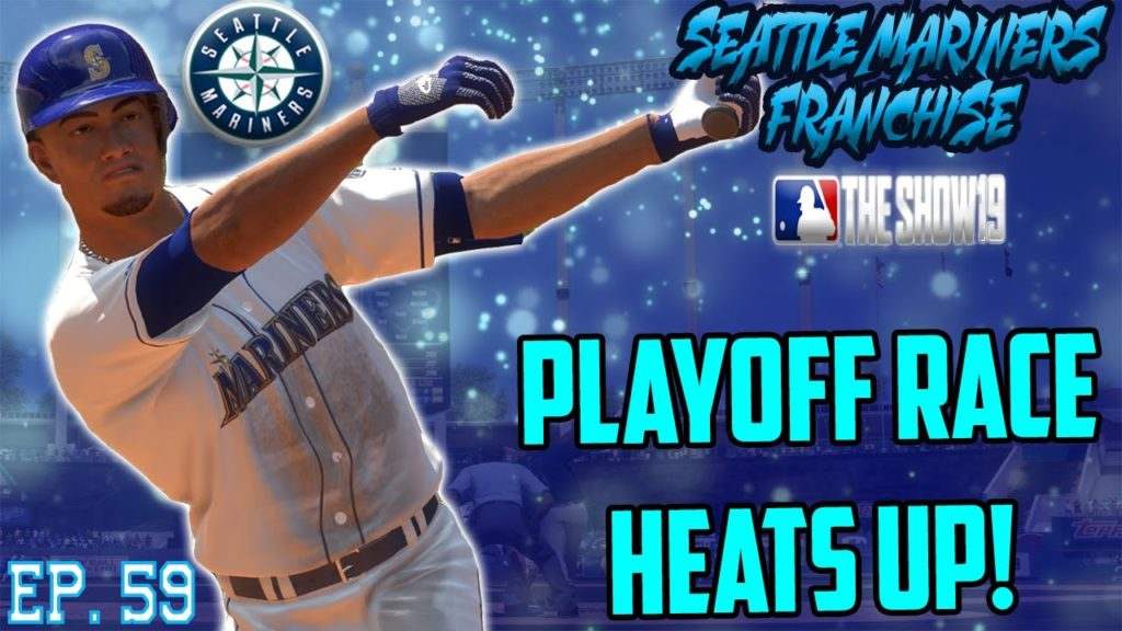 PLAYOFF FATE DETERMINED!   Seattle Mariners MLB the Show 19 Franchise Rebuild   Ep59 S4 Playoff Push