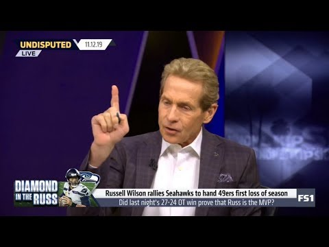 Skip Bayless IMPRESSED by Seahawks knock 49ers from unbeaten ranks with 27-24 OT win