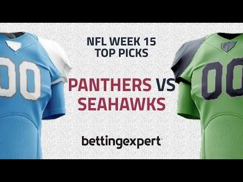 Week 15 NFL Picks | Top pick for Carolina Panthers vs Seattle Seahawks