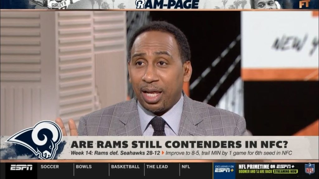 Stephen A. Smith REACTS TO Rams defeat Seahawks 28-12: Are Rams still contenders in NFC?