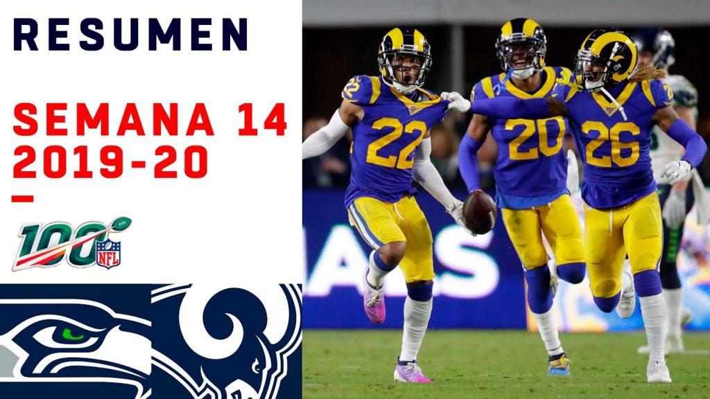 Rams se mete de lleno a la pelea por playoffs venciendo a Seattle | Highlights Seahawks vs Rams