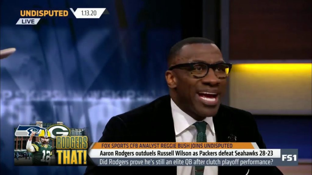 Shannon PRAISES Aaron Rodgers outduels Russell Wilson as Packers defeat Seahawks 28-23