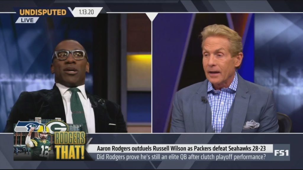 UNDISPUTED – Skip Bayless: Bye Bye Seahawks. Packers look like Super Bowl favorites