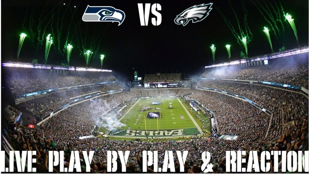 Seahawks vs Eagles Live Play by Play & Reaction
