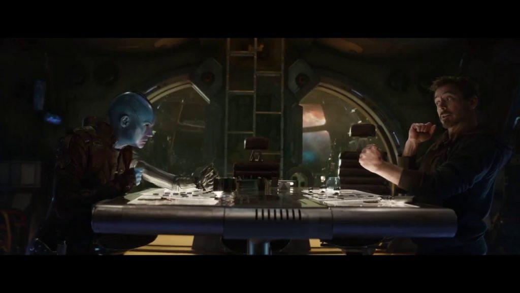 Avengers: Endgame   Nebula and Tony Playing Football Scene