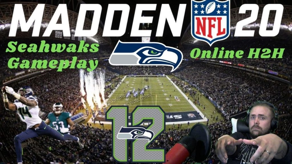 Madden Online Seahawks Gameplay Vs VillageBoy Chiefs Fan ll TimeStamp In Comment Section