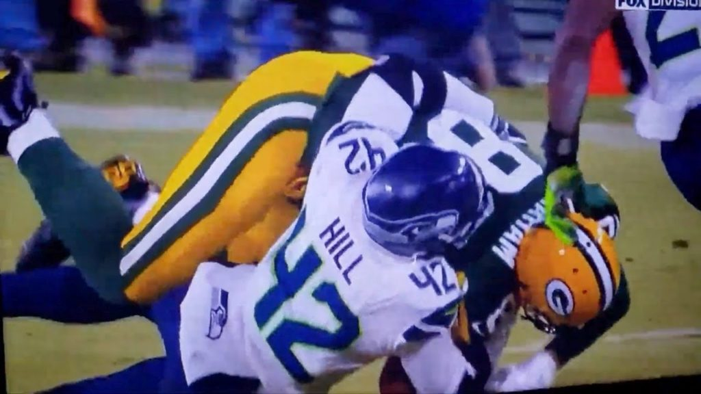 NFL IS RIGGED! Seahawks vs. Packers First Down