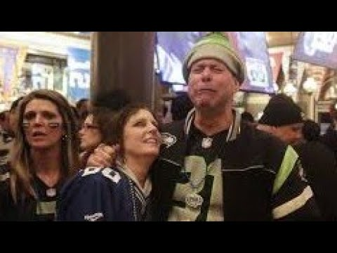 Seattle Seahawks vs Green Bay Packers Divisional Round 2020 Fan Reaction