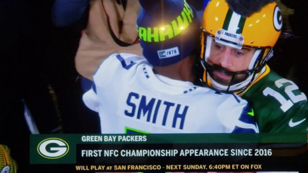 The Green bay Packers beat the Seattle Seahawks 28 to 23
