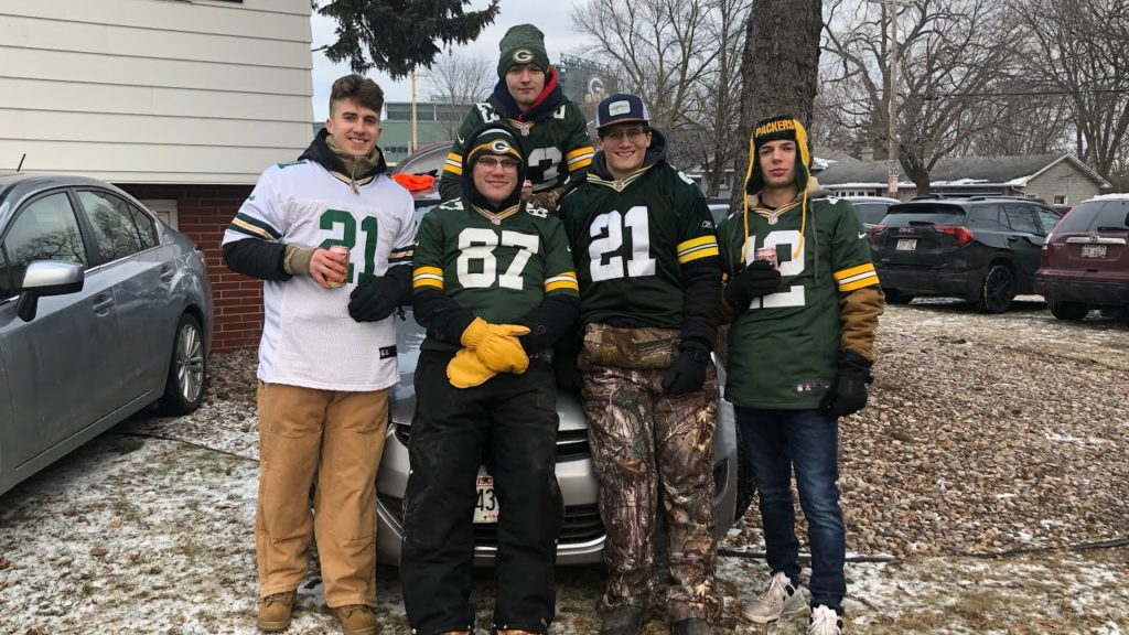 Divisional playoff game with the boys | Packers VS Seahawks!!!!