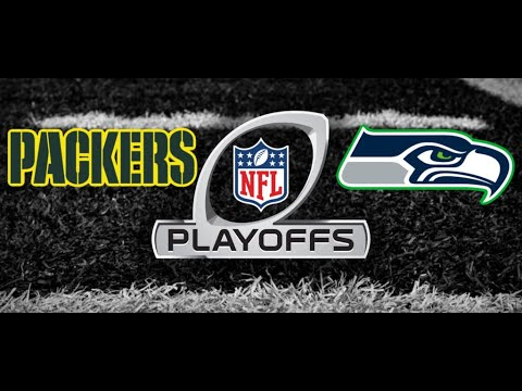 PACKERS VS SEAHAWKS DIVISIONAL PLAYOFFS LIVE PLAY BY PLAY!