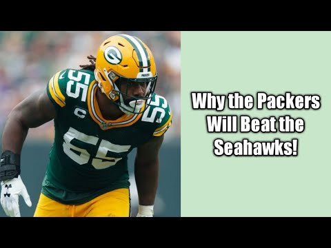 Why the Packers Will Beat the Seahawks!!!