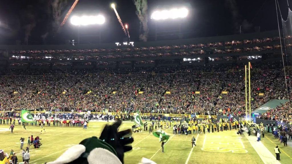 Seattle Seahawks vs Green Bay Packers 2020 Divisional Playoff intro
