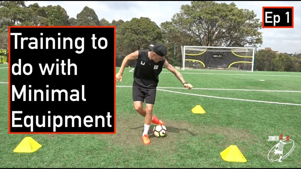 CAN YOU DO THIS? | Soccer Training Exercises To Do On Your Own | NO EQUIPMENT NEEDED | Joner 1on1