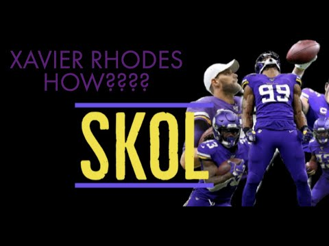 XAVIER RHODES IS A PRO BOWLER!?!?