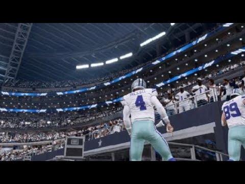 Madden NFL 20 Franchise Mode Season 2 Week 2 Seattle Seahawks @ Dallas Cowboys