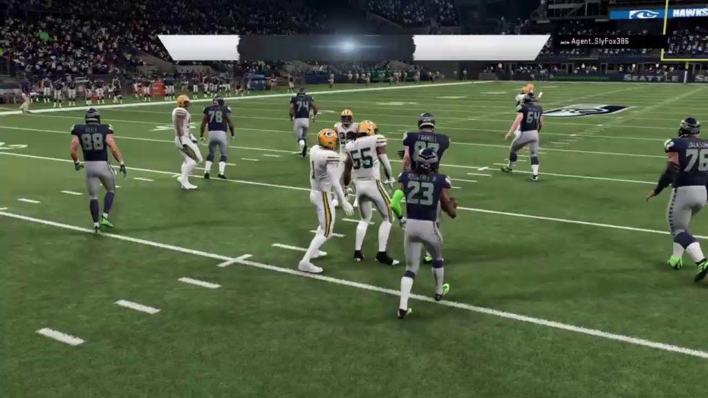 Packers vs Seahawks Angola