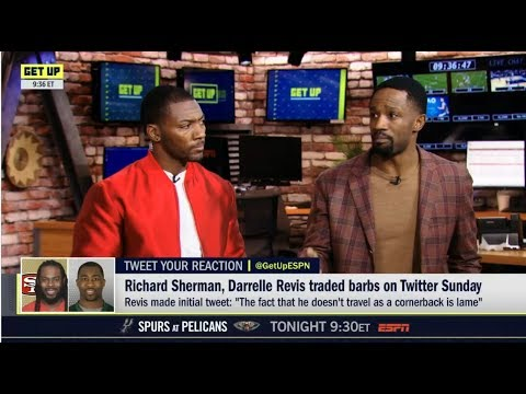 """Darrelle Revis on Richard Sherman: """"Stop hiding [in] a cover 3 zone"""" Ryan Clark REACTS"""