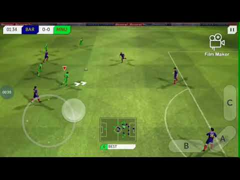 Watch how Wizkid play football game (Barcelona vs Manchester united)
