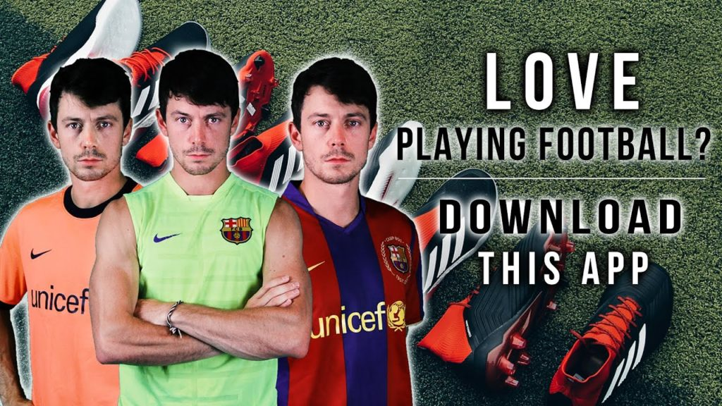 LOVE PLAYING FOOTBALL? DOWNLOAD THIS APP