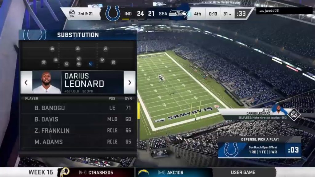 Commish_Seymore-Doe's Live PS4 (((1st48 ))) Broadcast seahawks