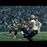 Seattle Seahawks Cracking the tough New Orleans defence in the rain …