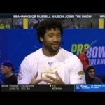 Russell Wilson joins the Show talk about He represent NFC in Pro Bowl Skills