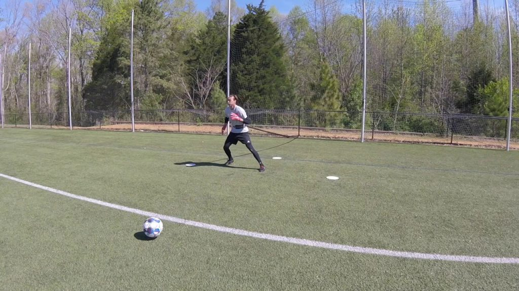 Awesome Pro Goalkeeper Resistance Band Session: 4 EXERCISES