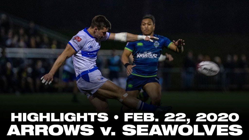 Toronto Arrows   Match Highlights vs. Seattle Seawolves (Feb. 22, 2020)