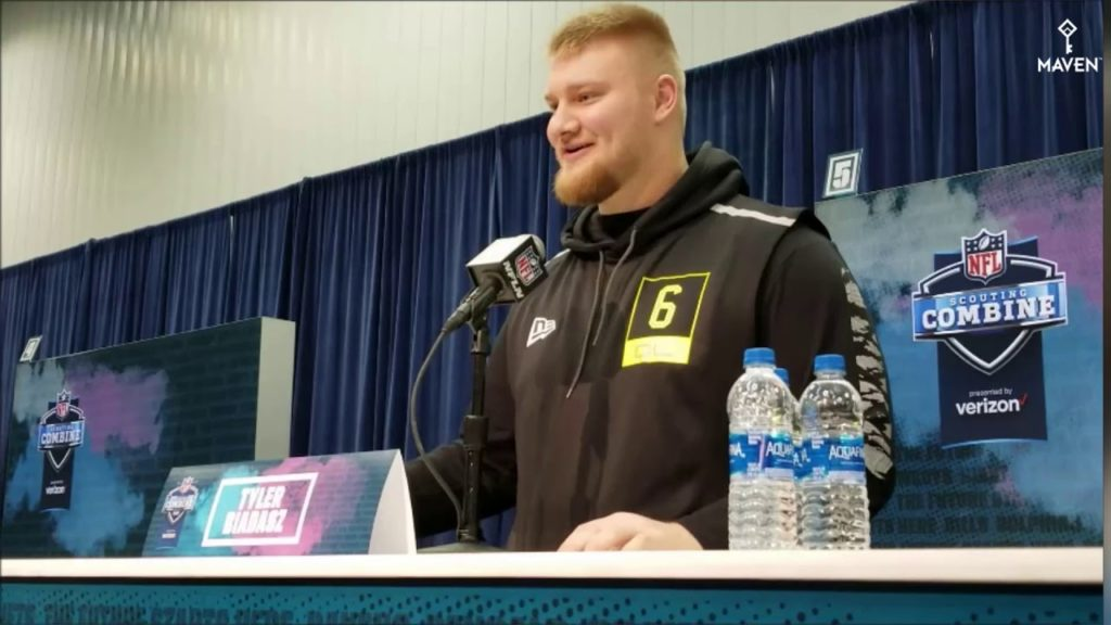 2020 NFL Scouting Combine Interviews – Offensive Line