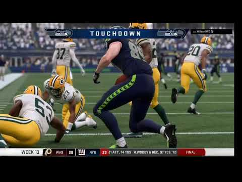 Madden Empire, 2022 Season, Week 13: Packers (6-5) at Seahawks (7-4) – 2nd Half