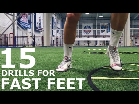 15 Fast Footwork & Coordination Drills | Full Fast Feet Training Session For Athletes