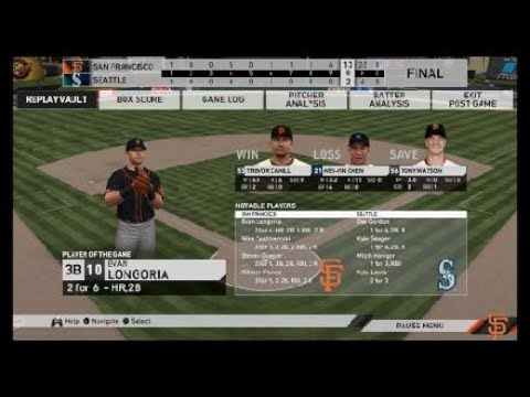 San Francisco Giants VS Seattle Mariners Spring Training 2