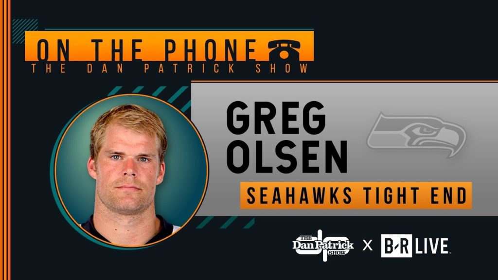 Seahawks TE Greg Olsen Talks Leaving Panthers, Cam Newton & More w/ Dan Patrick | Full Interview