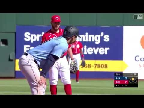 Mariners Vs Reds Highlights Spring Training 2/26/20