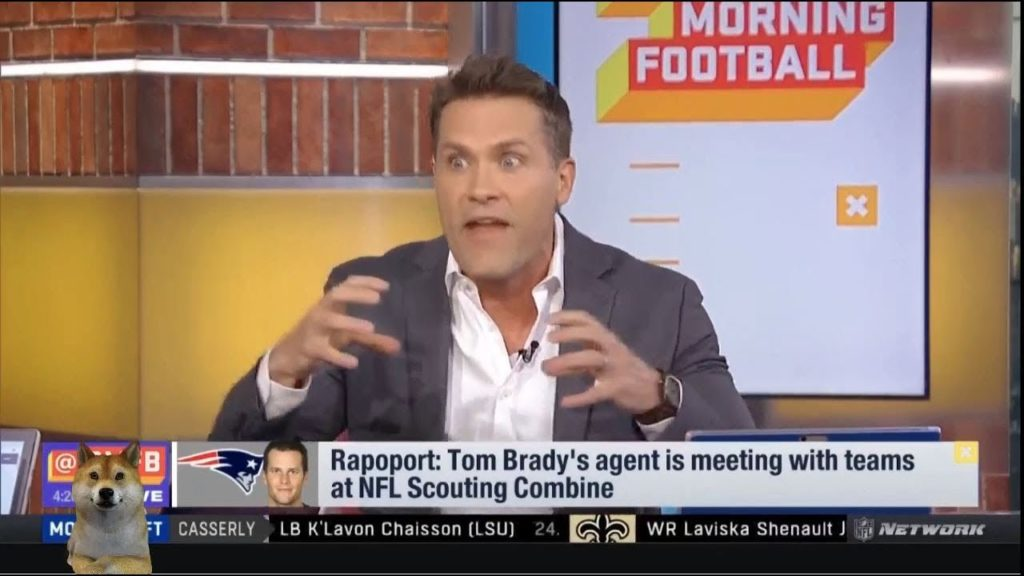 [Good Morning Football] Tom Brady's agent is meeting with teams at NFL Scouting Combine